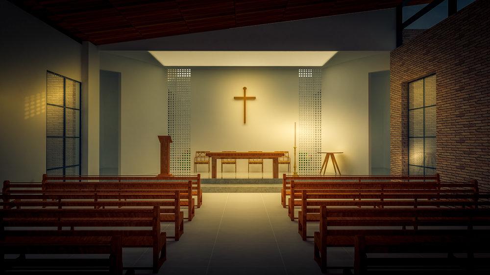 Capela para Frei Galvão | Alto Alegre - SP