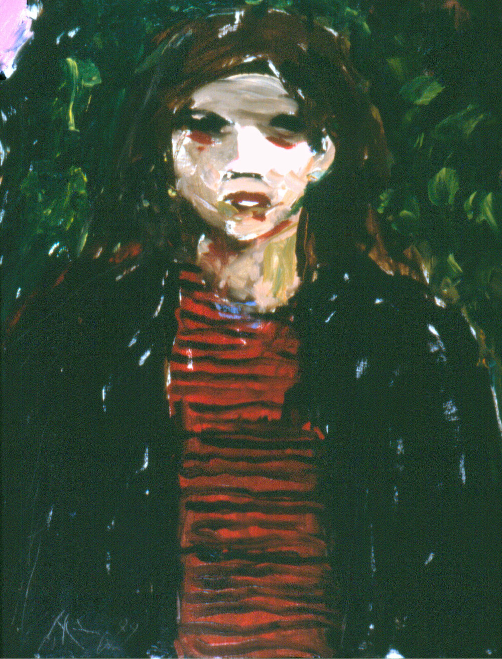 """Adolescent Girl"" :  24 x 18 inches, Oil on Linen $1000."