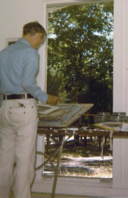 Bruce Rosen at work