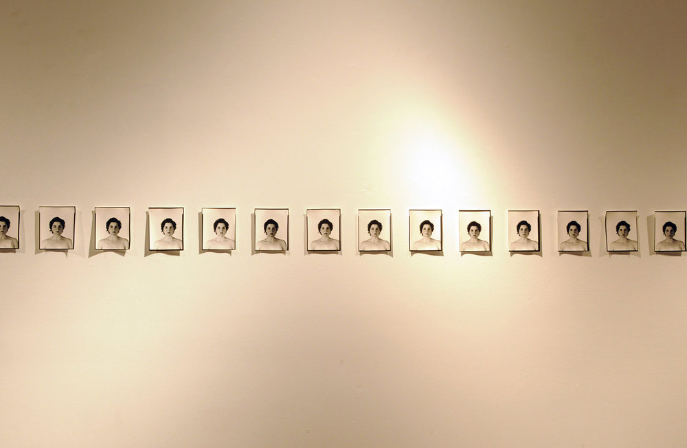"""Her"", Piece One. 2012. Silver Gelatin Photographs. 12' x 11 ½ '"