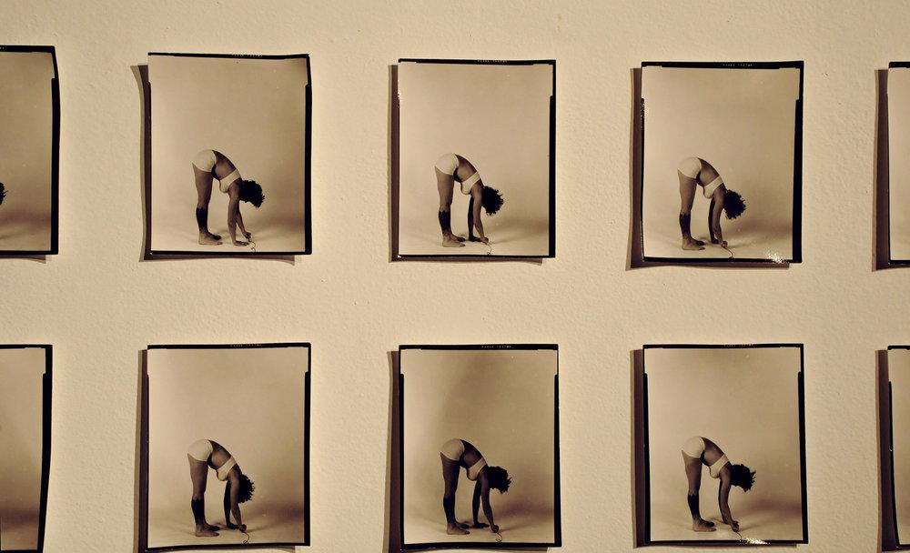 """Her"", Piece Four. 2012. Silver Gelatin Photographs. 2.4' x 3'"