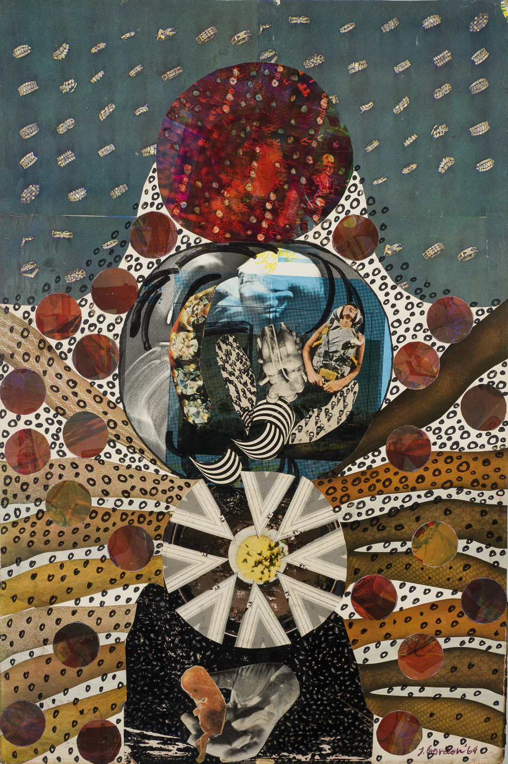 "Untitled – later rendition Untitled (Women Artists/Recreate/The Art/World) 30"" X 20"", $2000."