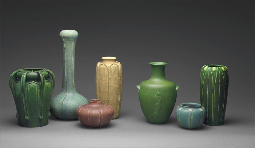 Metropolitan Museum of art / American Art Pottery