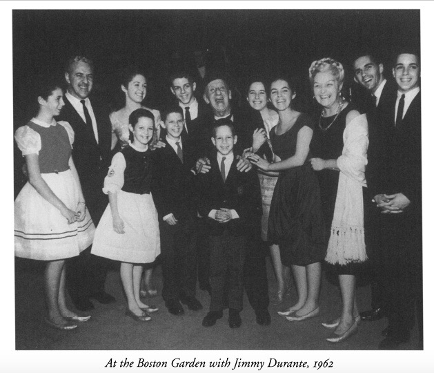 Boston Gardens with Jimmy Durante, 1962