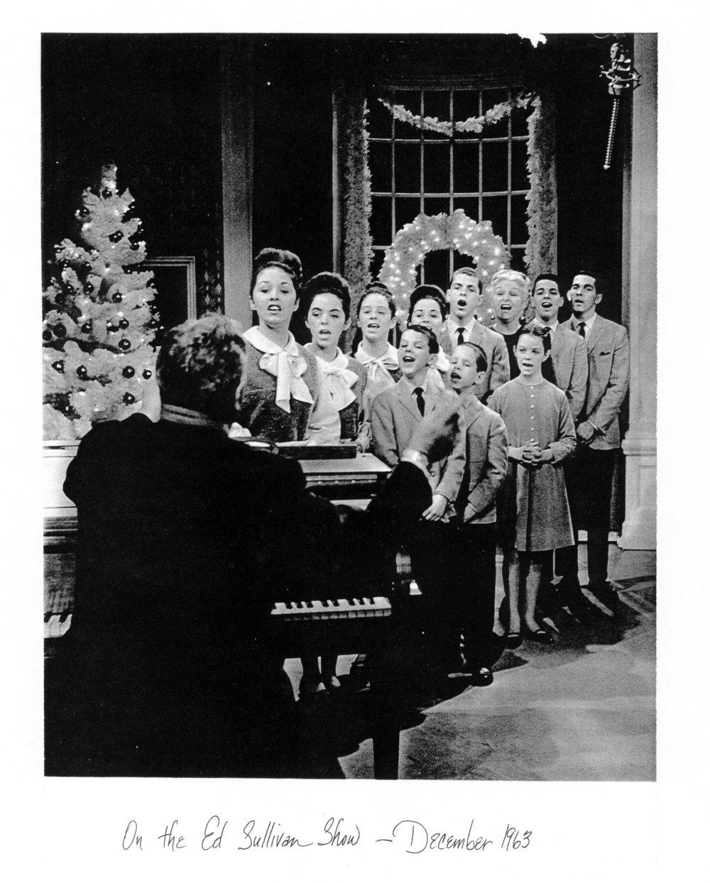 Ed Sullivan Show 1963