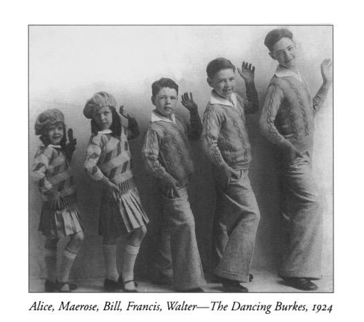 Alice, Maerose, Bill, Frances, Walter - The Dancing Burkes, 1924