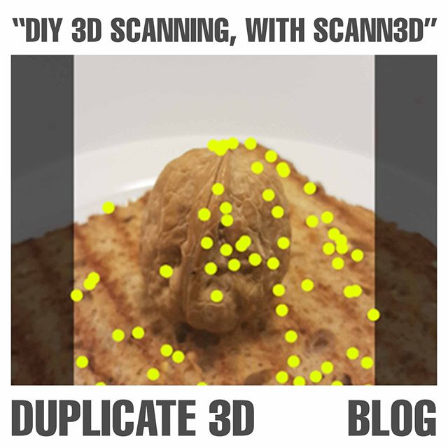 Check out my Blog about 3D scanning on your smartphone with the Scann3D App! http://ow.ly/ULtf30jzkXe . #Duplicate3D #3dscanning #3d #3dscan #3dprinting #DIY #blog #review #app #art #food #phone #service #3ddesign
