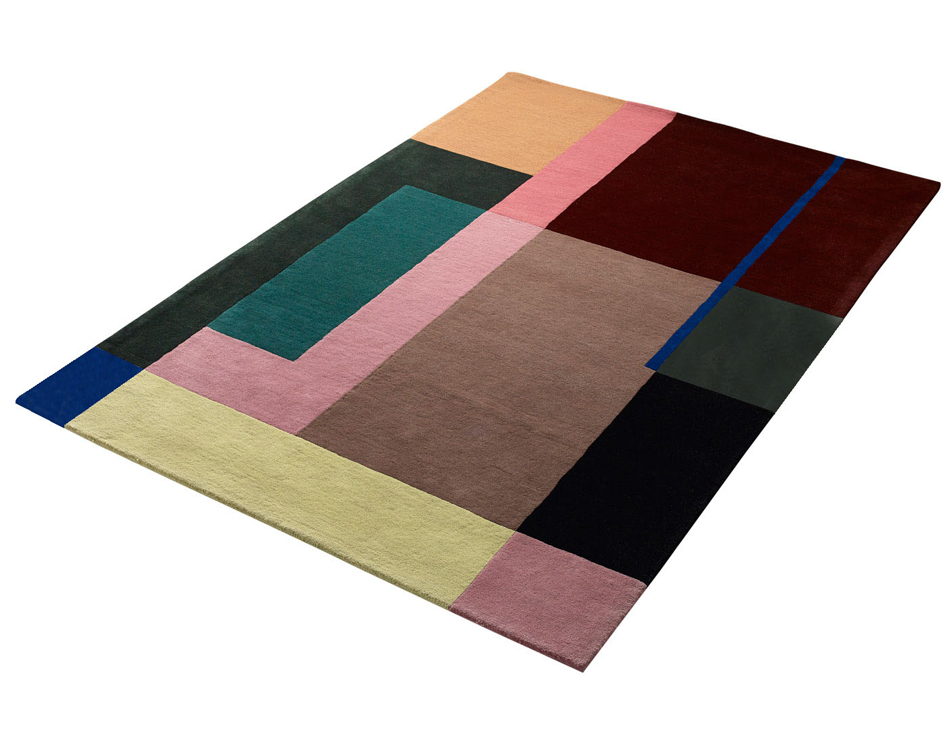 """selma"" handtufted rug 200x300cm 100% new zealand wool- limited edition-sold out"