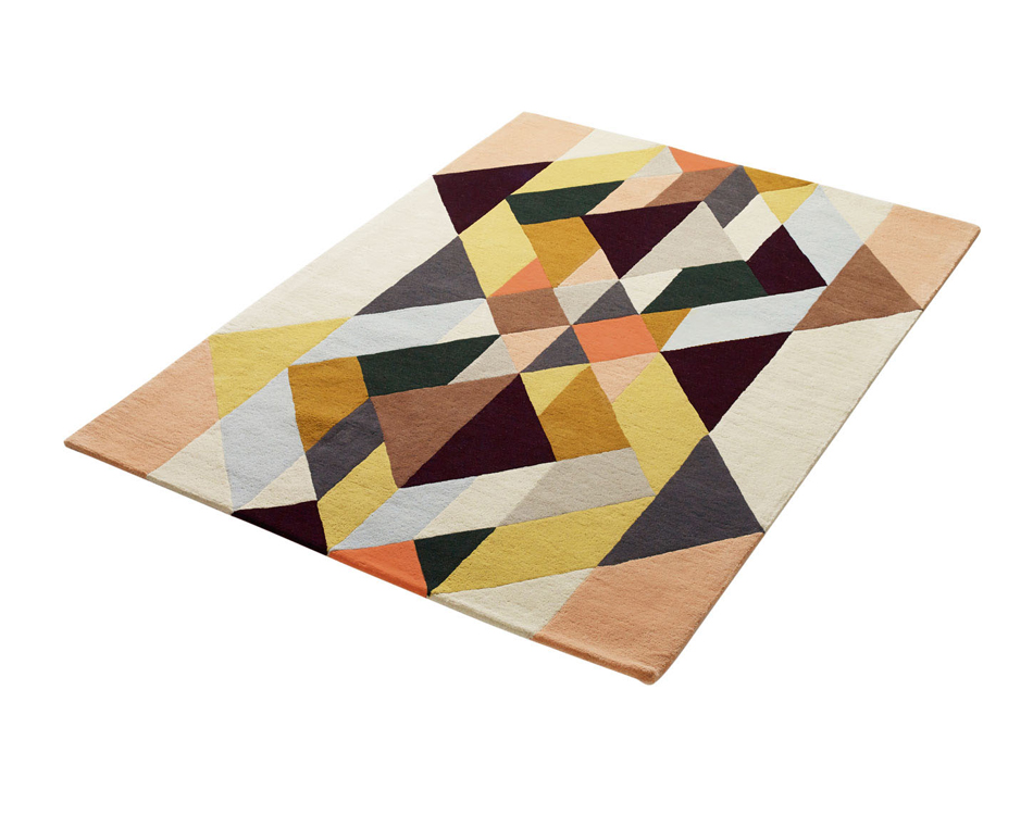 """vita"" handtufted rug 200x300cm 100% new zealand wool- limited edition-sold out"