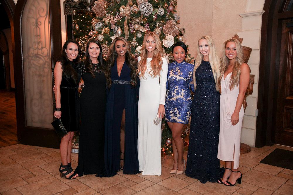 Bridesmaids: Lindsey, Lacey, Mariel, Nakisha, Kristen, Kirbee