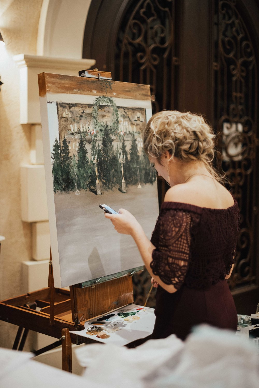 Heather Smith Live Painter