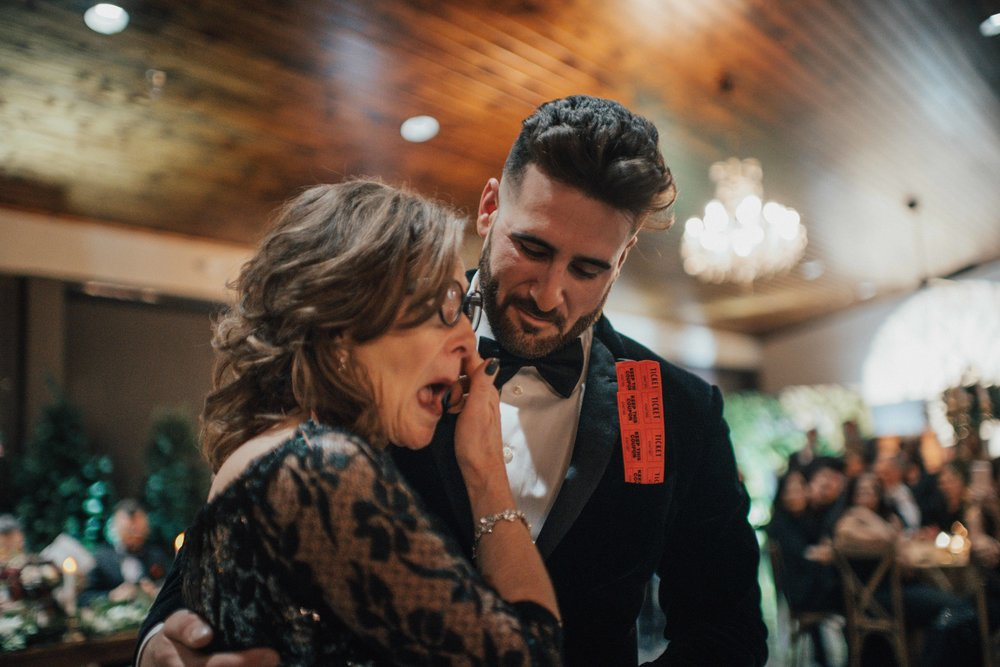 Mom and Son dance