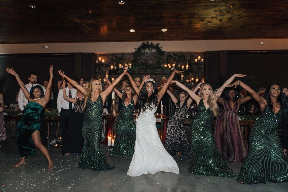 The TN Titan Cheerleader Alumni ( Jocy, Kristen,Evony,Jen Hill, AP, Stormi, Evony, Tandra, Julia, Heather, Chasity, Stephanie, Tiffany)
