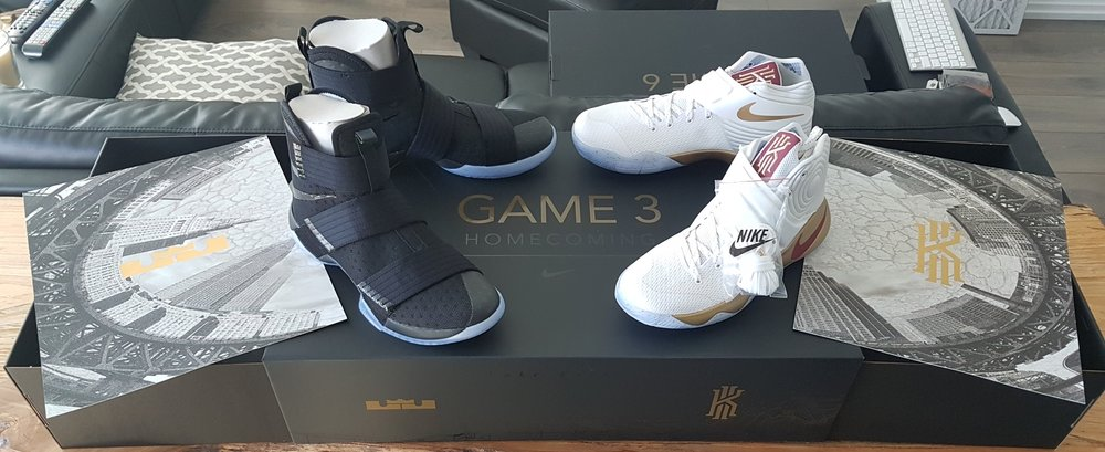 new arrival 0251c bc822 Nike Lebron Kyrie Four Wins Championship Pack - Game 3 Homecoming