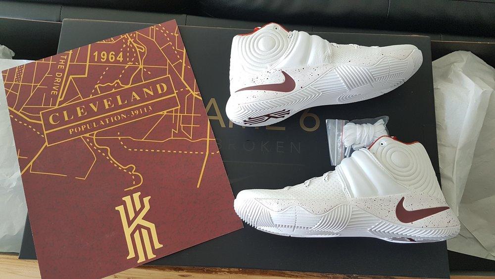 454a6d17d01 Nike Lebron Kyrie Four Wins Championship Pack - Game 6 Unbroken — Yeezy X  Jumpman