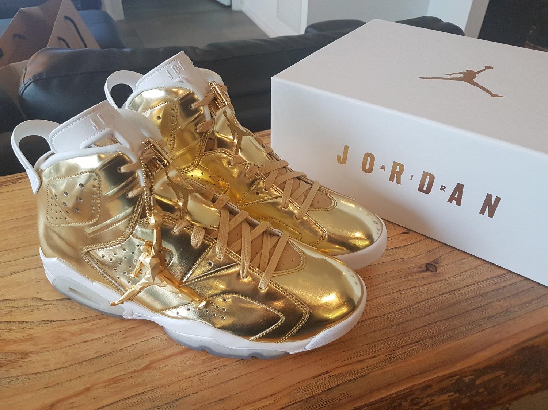 reputable site f616e bb7ce Jordan 6 Retro Pinnacle Metallic Gold — Yeezy X Jumpman