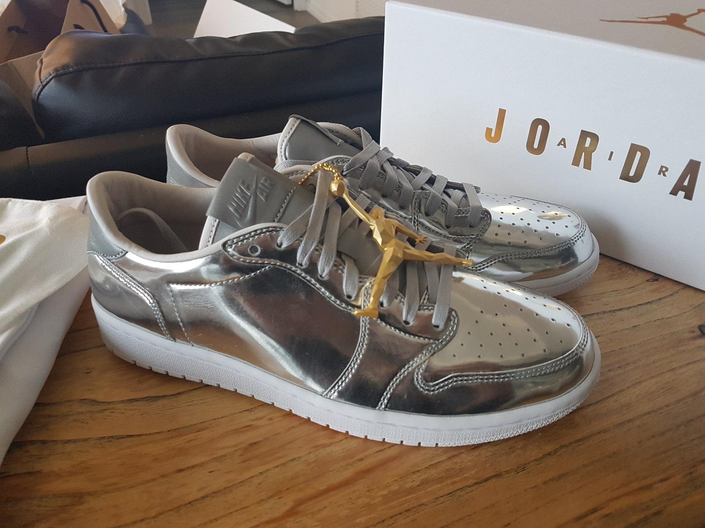 a87fd72e03b Jordan 1 Retro Low Pinnacle Metallic Silver — Yeezy X Jumpman