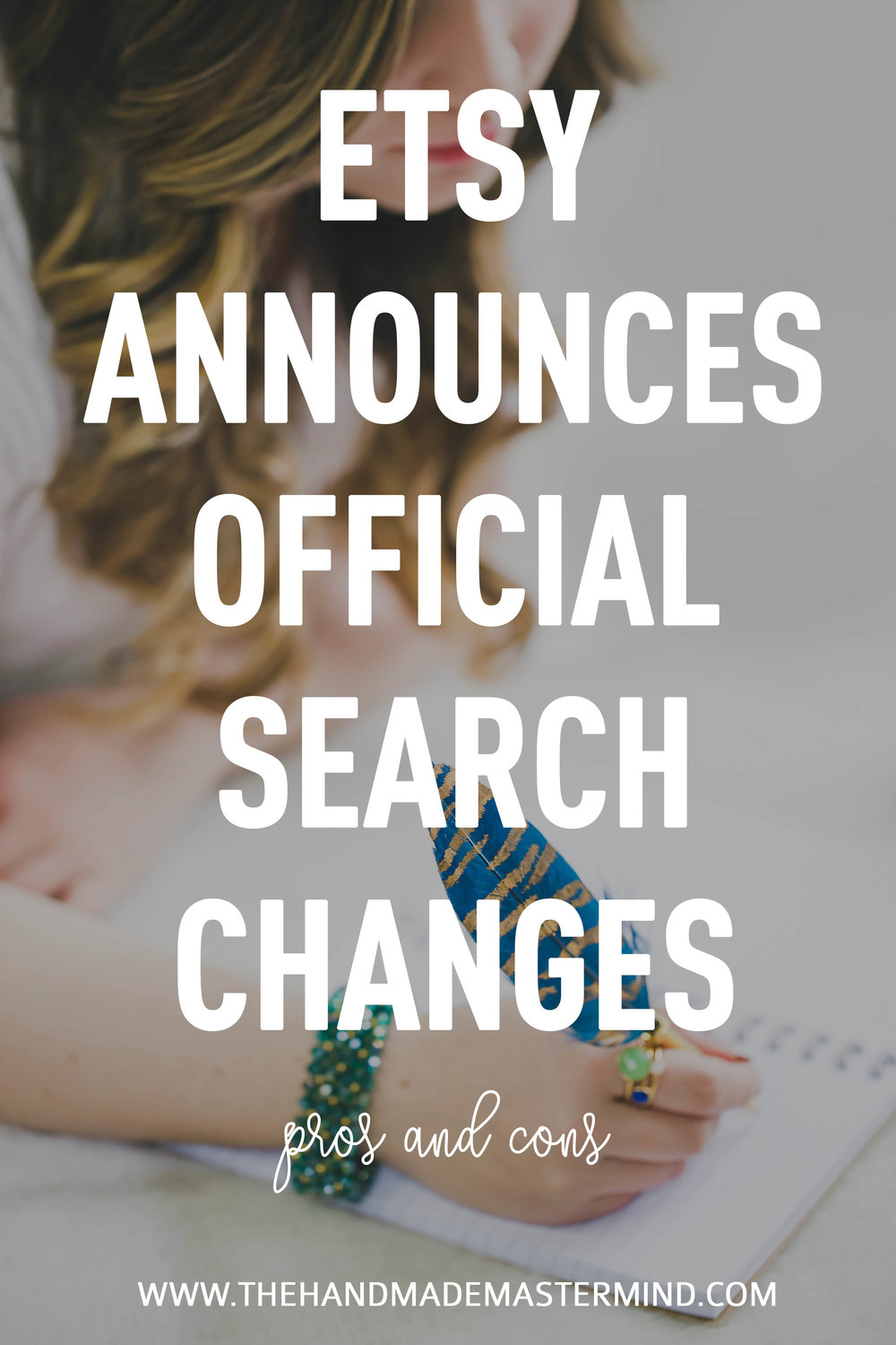 How to sell on Etsy search changes