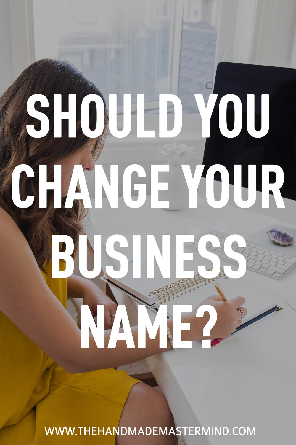 Should you change your business name?