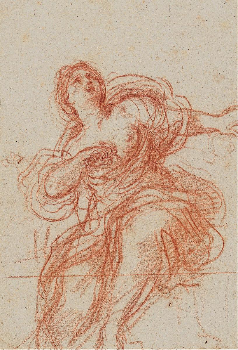 Guercino, Death of Lucretia (1640)