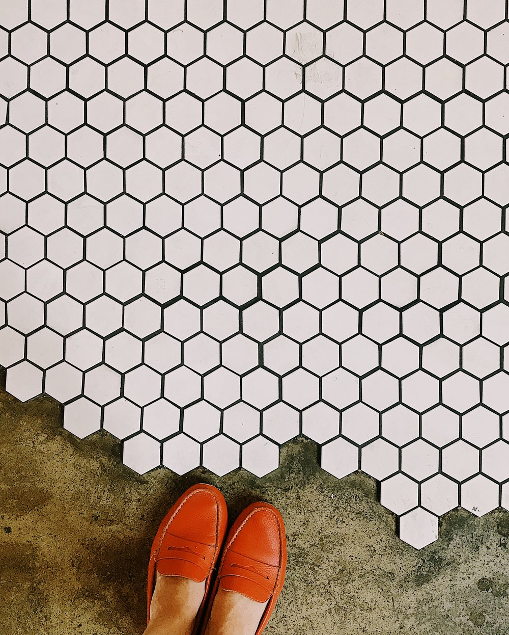 The Tiles of Moniker Coffee