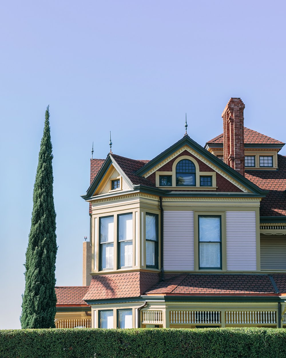 The HH Timken mansion, in the Queen Anne Victorian style (1887).