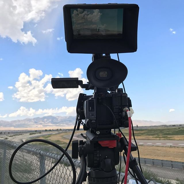 My office view for the weekend. #werkinfortheweekend #womeninfilm #ladydp #femaledp #camops #motorsportpark #pirelliworldchallenge #fastcars