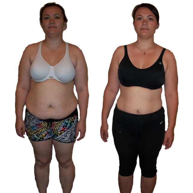 SASKIA LOST 35+ LBS IN 12 WEEKS!