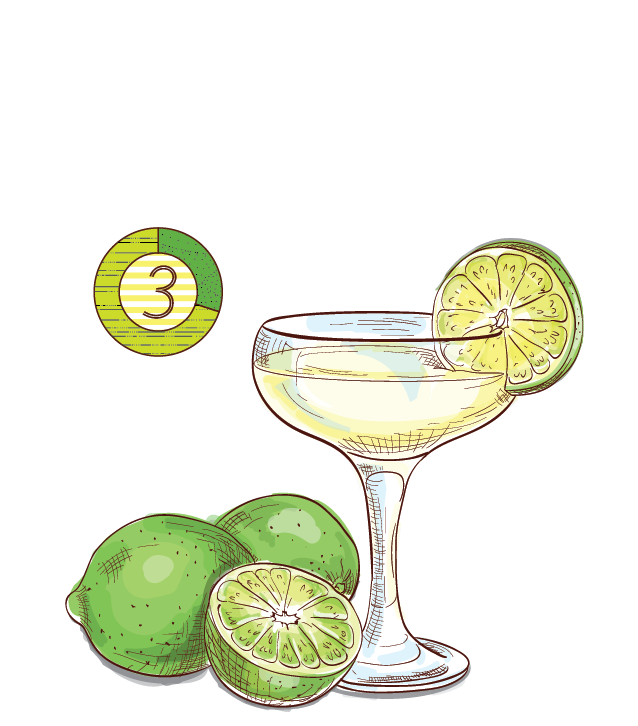 Gilded Daiquiri - Espirito XVI Cachaca Dourado lime sweet simple cocktail.png