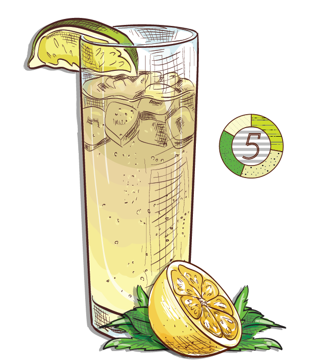Angels Trumpet - Espirito XVI Cachaca lemon mint ginger beer sweet simple sour lemonade cocktail.png