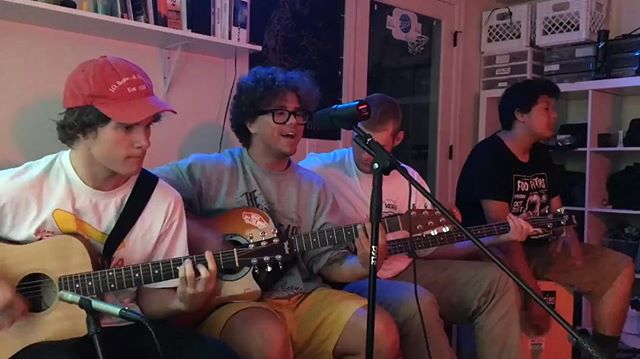 Everybody go check out our second episode of Acoustic couch. All is Fair covering Your Graduation by Modern Baseball  Link in bio