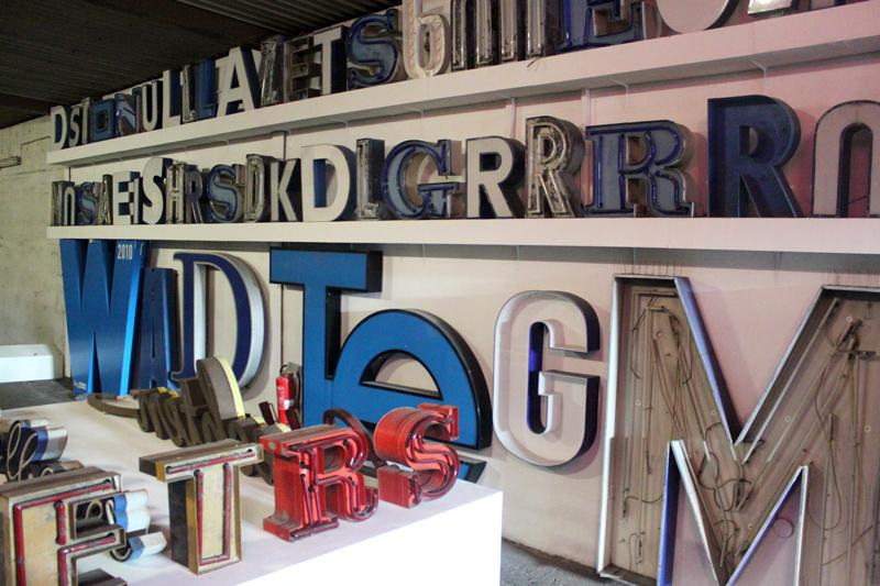 Buchstaben Typography Museum