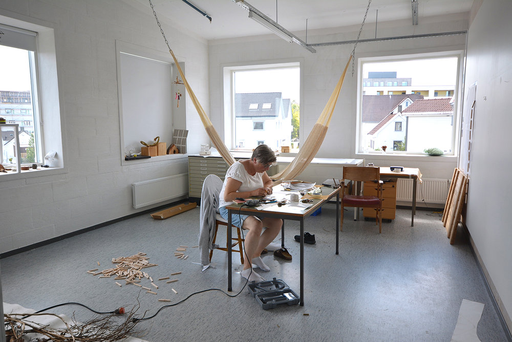 Solveig Landa's studio, third floor.