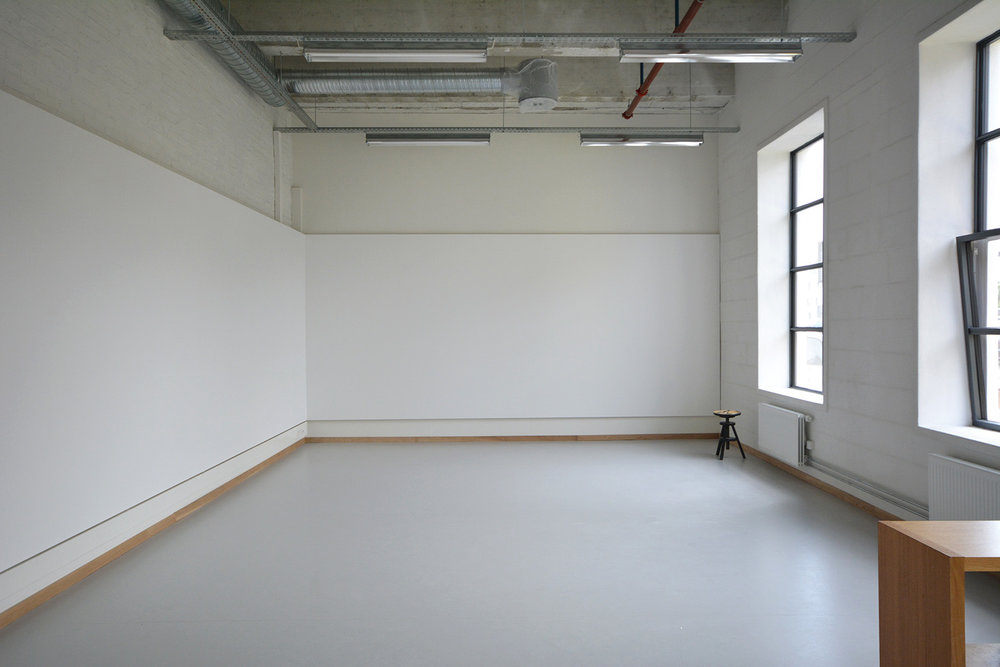 Photos of the new studios on the second floor