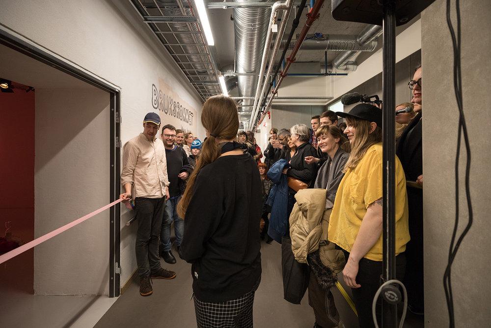 Snorklipping og åpning av Bruksrommet Photo: Oddbjørn Erland Aarstad
