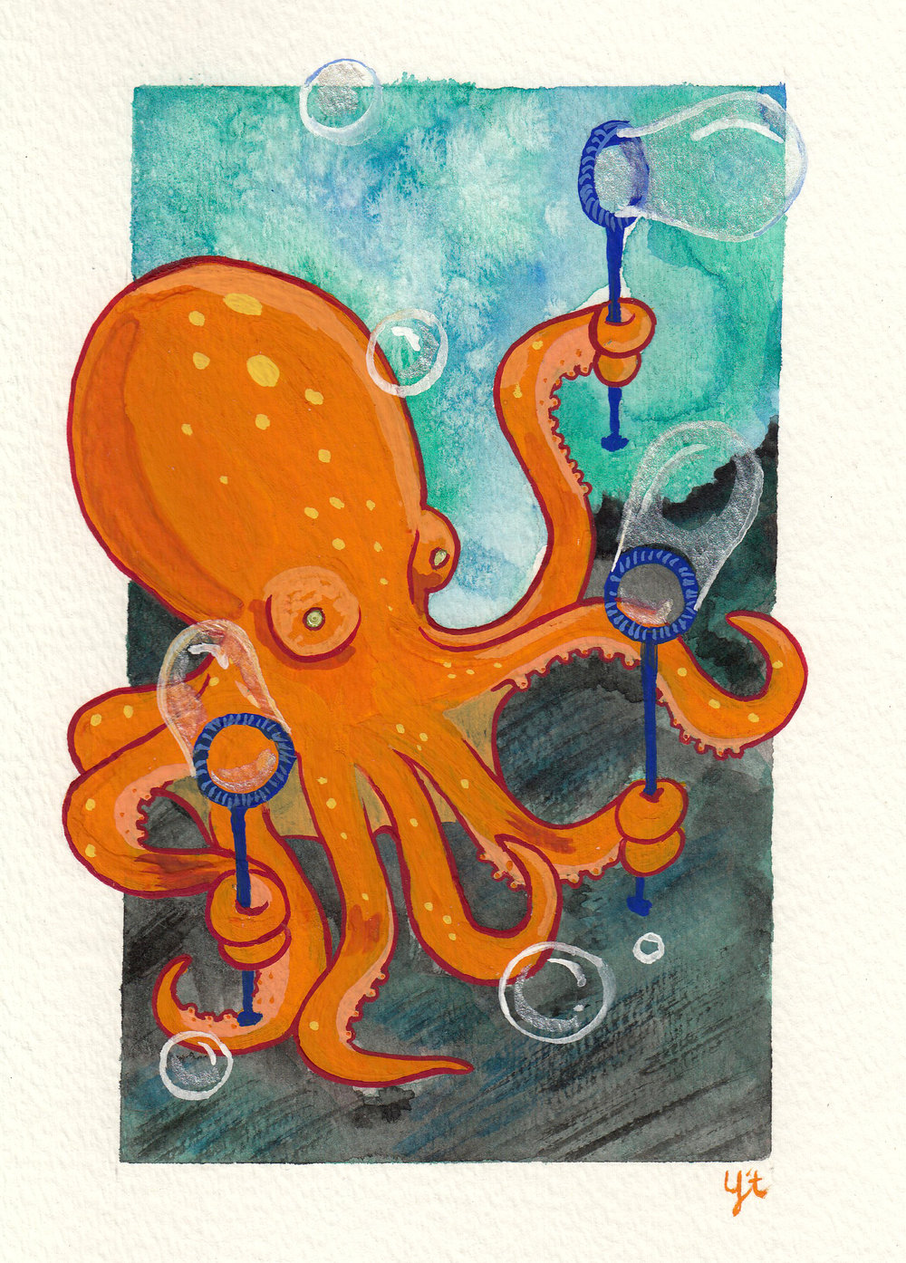 Bubble Octopus