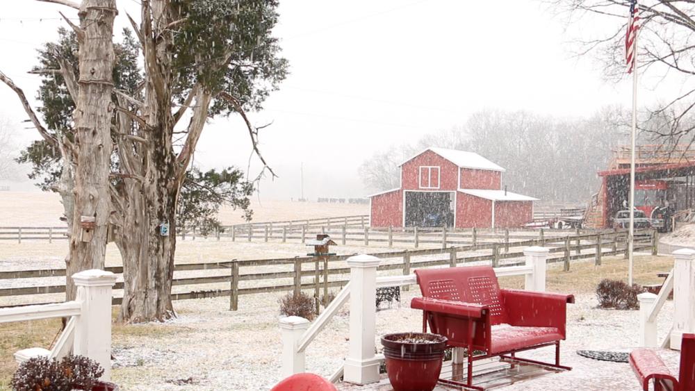 snowy farm 1