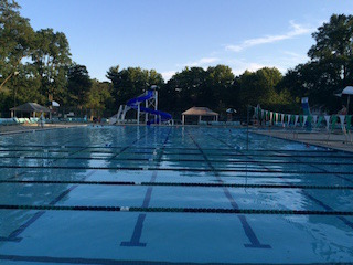 Katie Ledecky has practiced at this pool, Connecticut Belair, in Montgomery county.