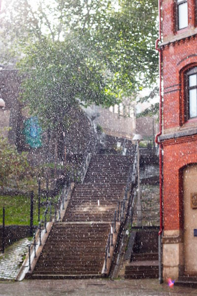 water on stairs and building.jpg
