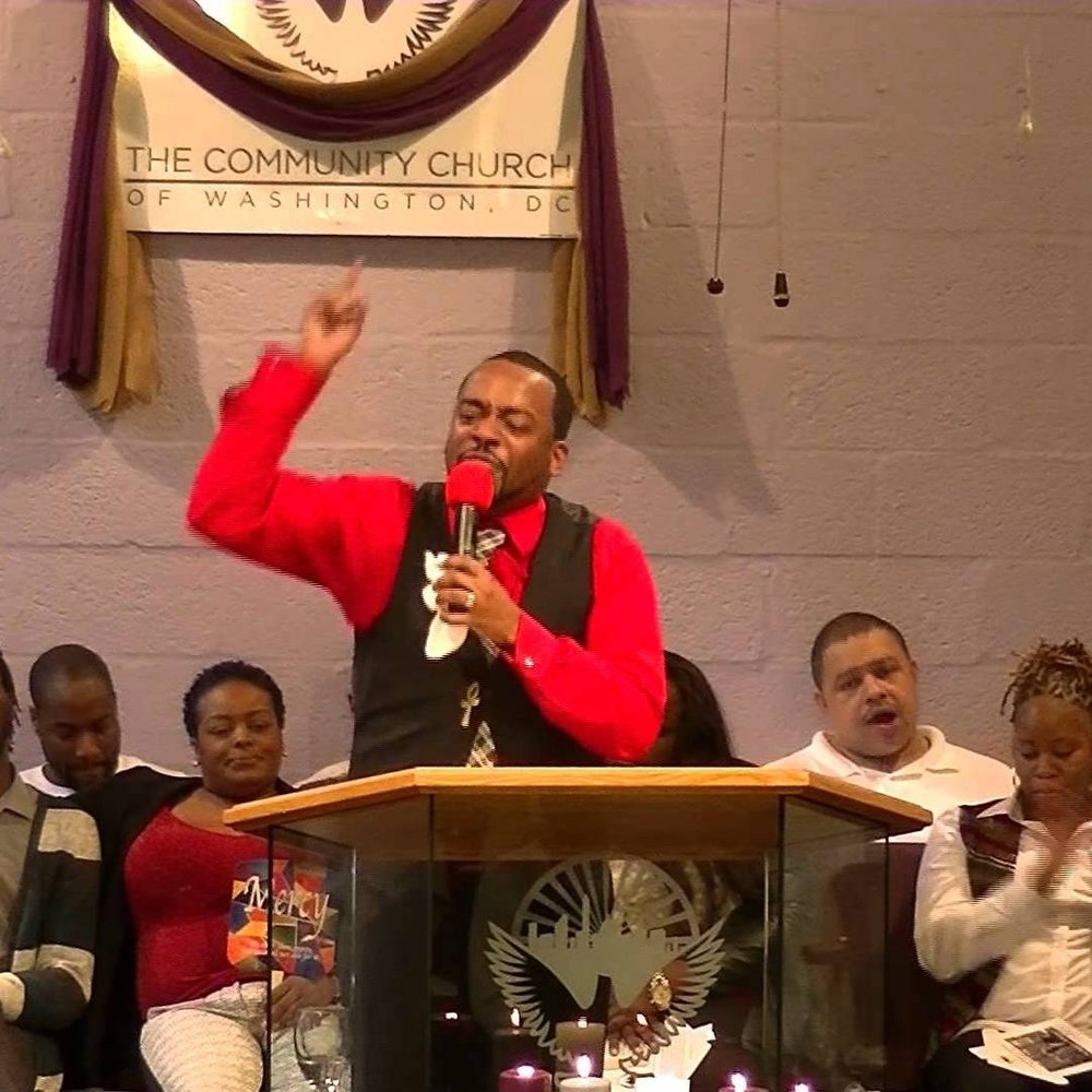 Pastor Aaron Wade, The Community Church of Washington DC