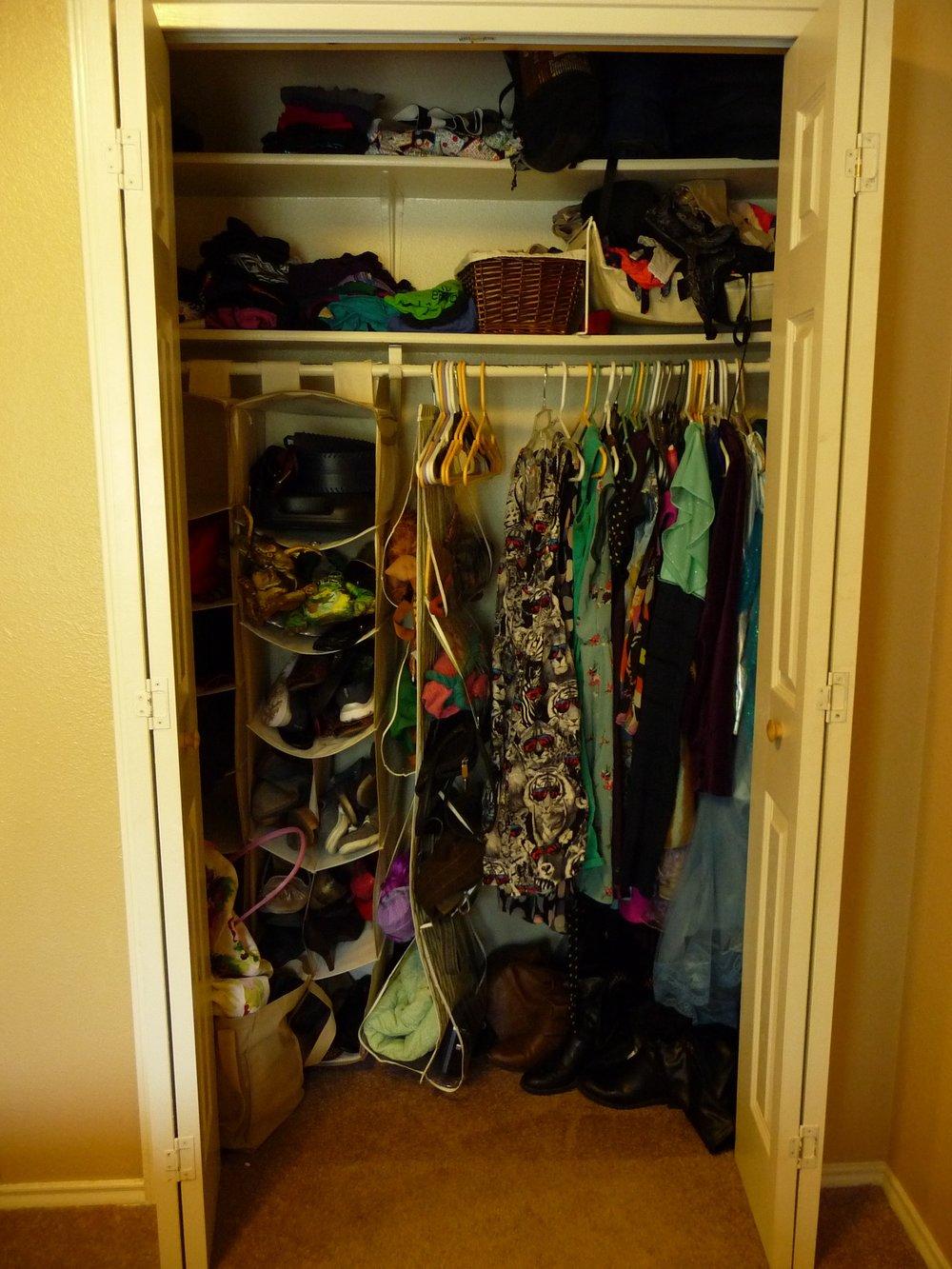 A Teacher's Closet: BEFORE