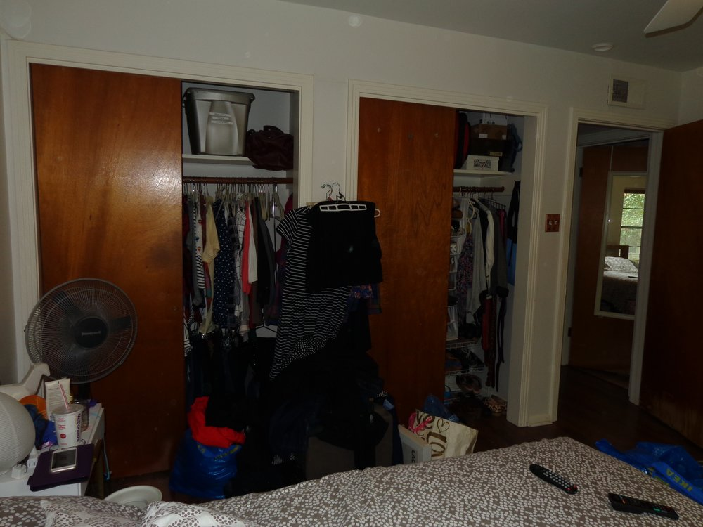 A Vintage Addict's Closets: BEFORE