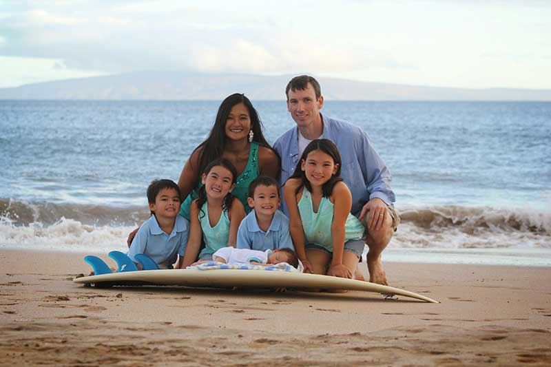 Sharina Husted Family - Grace Bible Church Maui