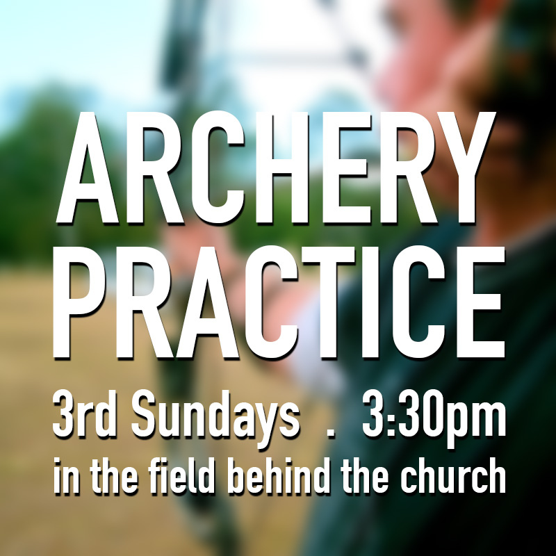 Archery Practice at Grace Bible Church Maui