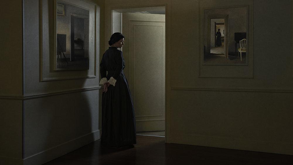 Woman Standing in a doorway (2016)