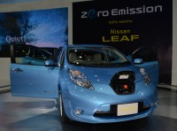 The 2013 Nissan Leaf Features