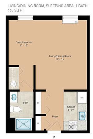 paul springs floor plan
