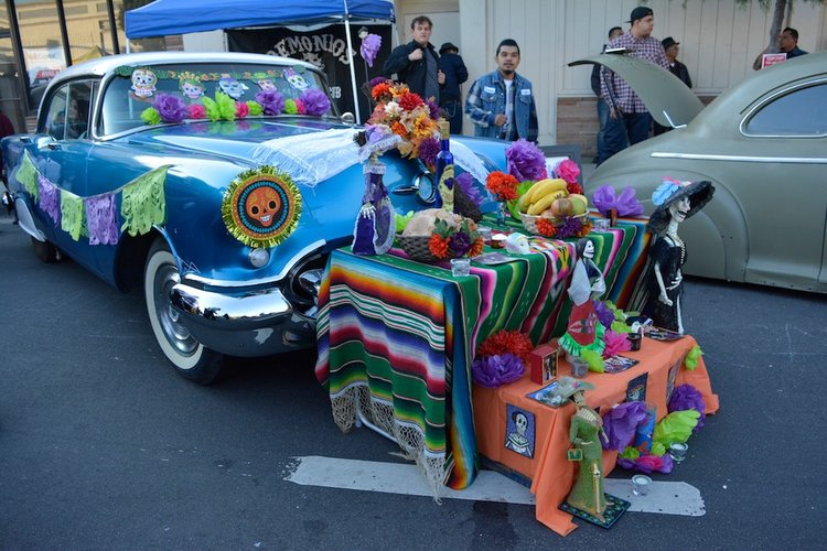 Riverside Day of The Dead Altars