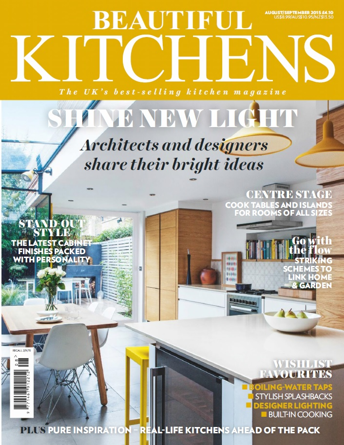 Beautiful Kitchens,                   Aug/Sept 2015