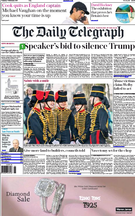 The Telegraph - February 2017